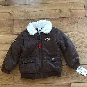 Little Me aviator jacket